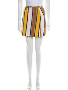 Reformation Striped Mini Skirt w/ Tags
