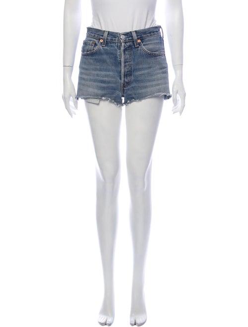 Reformation Mini Shorts Blue