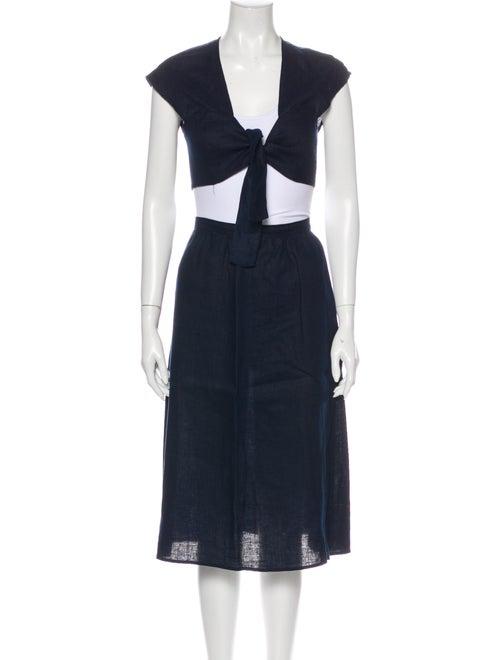 Reformation Skirt Set Blue