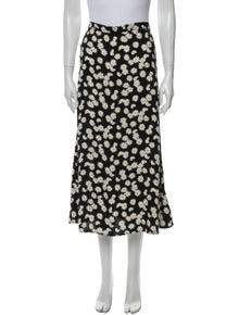 Reformation Daisy chain Midi Length Skirt
