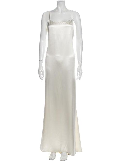 Reformation Silk Long Dress