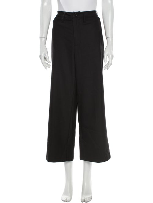 Reformation Wide Leg Pants Black
