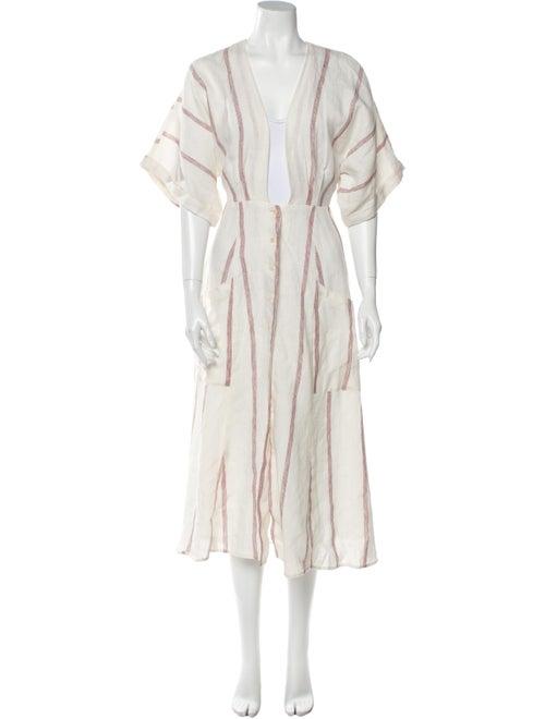 Reformation Linen Long Dress