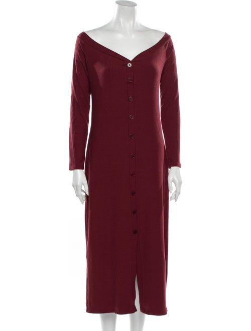 Reformation Cora Midi Length Dress