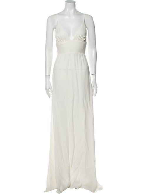 Reformation Seychelles Long Dress White