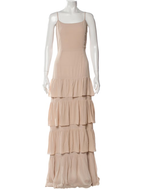 Reformation Foxglove Long Dress