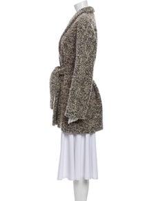 Reformation Tweed Pattern Coat