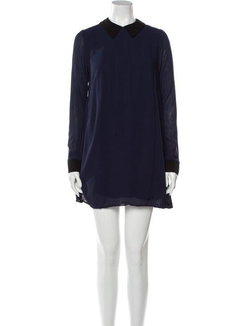 Reformation Mini Dress Blue