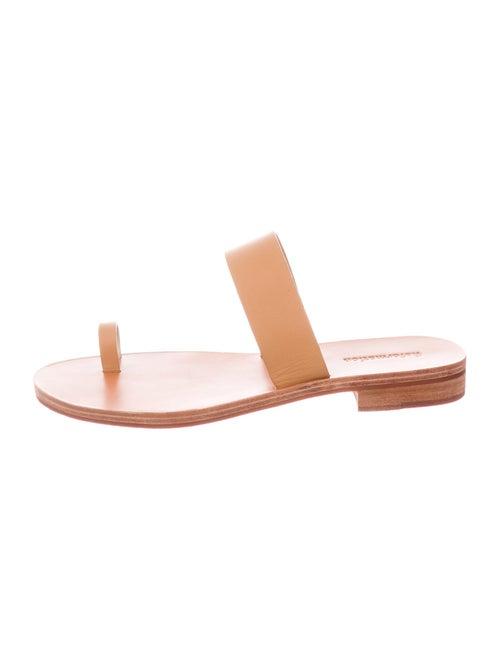 Reformation Mila Leather Slides