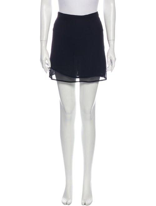 Reformation Mini Skirt Black