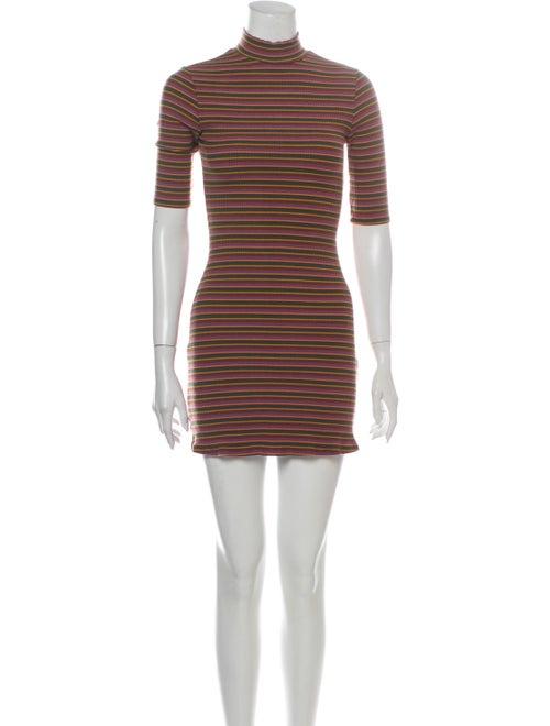 Reformation Striped Mini Dress