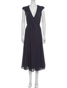 Reformation V-Neck Midi Length Dress w/ Tags
