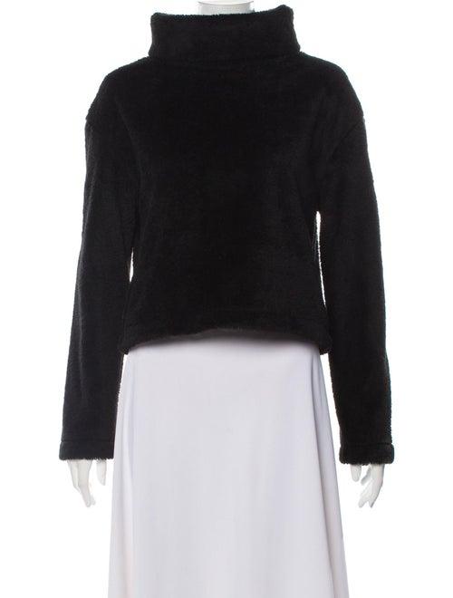 Reformation Turtleneck Sweater Black