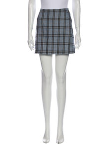 Reformation Linen Mini Skirt