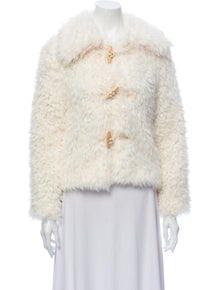 Reformation Faux Fur Jacket