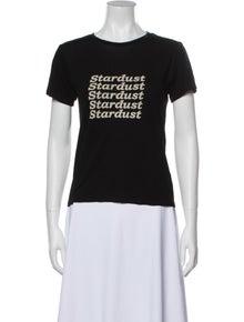 Reformation Graphic Print Crew Neck T-Shirt