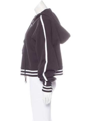 Rising Sun Lace-Up Hoodie