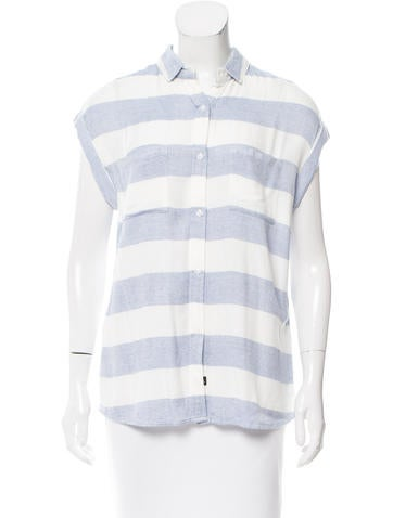 Rails Striped Button-Up Top w/ Tags None