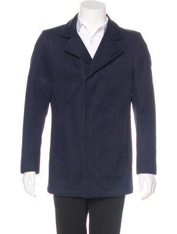 Reiss Notched Lapel Coat None