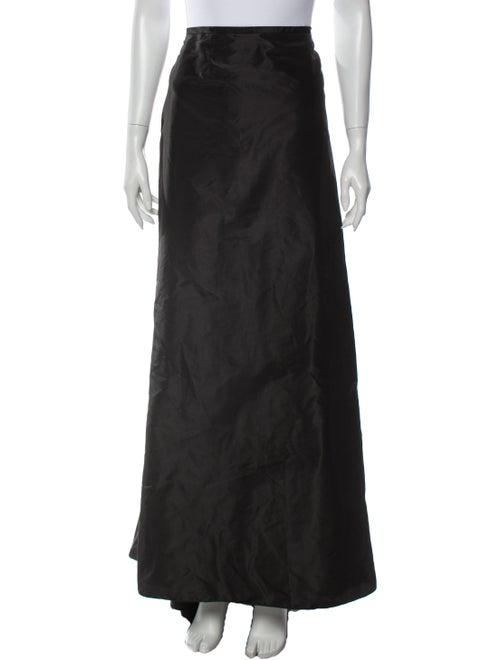 Teri Jon by Rickie Freeman Long Skirt Black