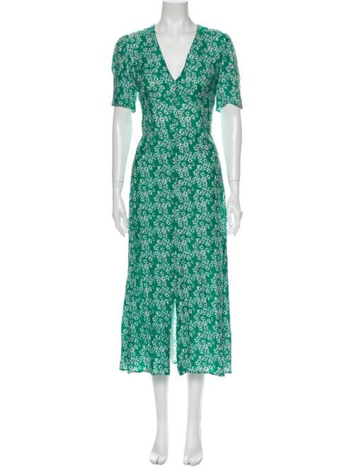 Rixo Dress Green