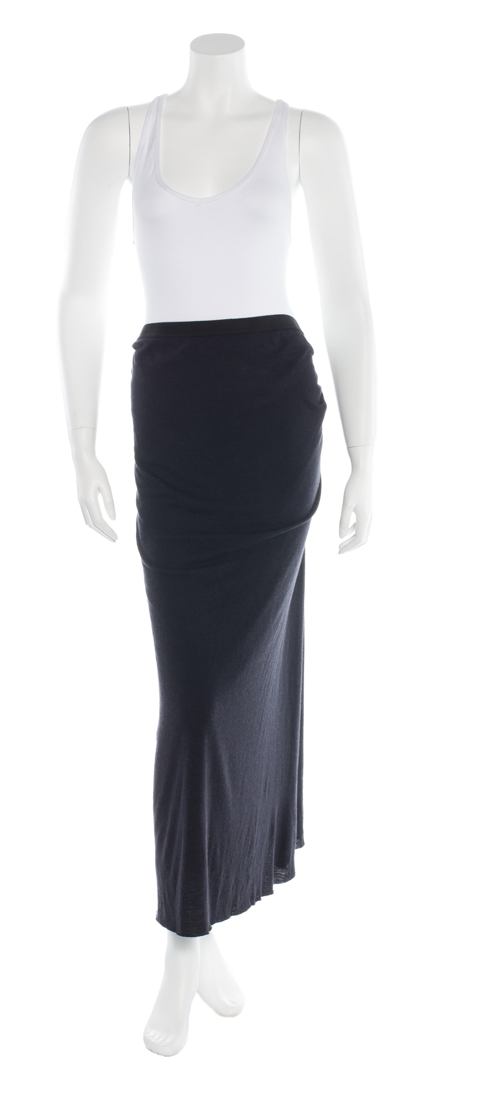 rick owens lilies knit maxi skirt clothing wrk21581