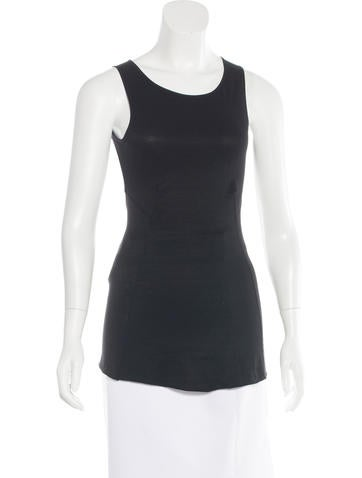 Rick Owens Lilies Open Back Sleeveless Top w/ Tags None