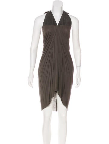Rick Owens Lilies Sleeveless V-Neck Dress w/ Tags None