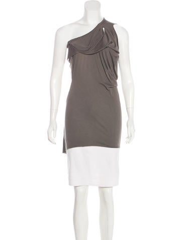 Rick Owens Lilies Draped Sleeveless Top None
