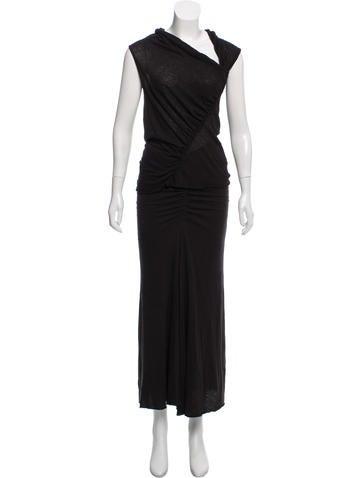 Rick Owens Lilies Sleeveless Jersey Skirt Set by Rick Owens Lilies
