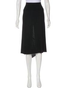 b490f86ef0 Rick Owens Lilies. Asymmetrical Midi Skirt