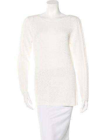 Rachel Zoe Open Knit Long Sleeve Sweater w/ Tags None