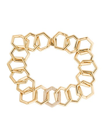 Rachel Zoe Geometric Collar Necklace