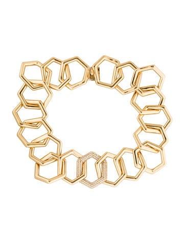 Rachel Zoe Geometric Collar Necklace