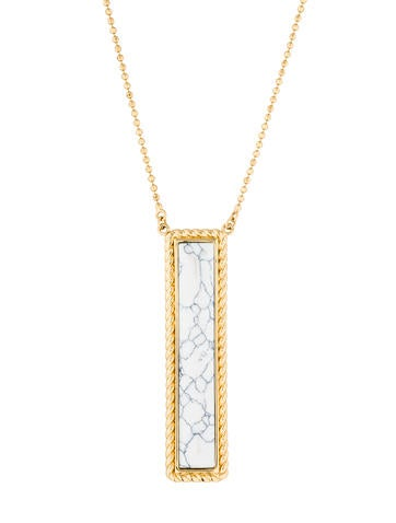 Rachel Zoe Nadia Pendant Necklace