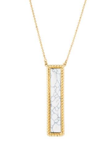 Rachel Zoe Nadia Pendant Necklace