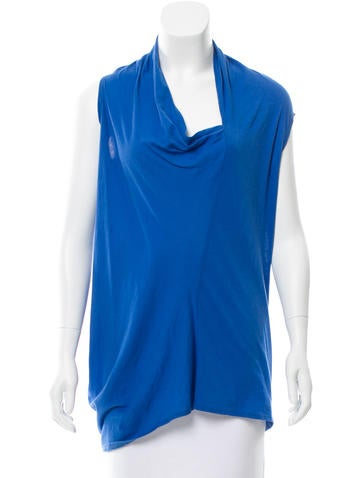 Rachel Zoe Asymmetrical Sleeveless Top None