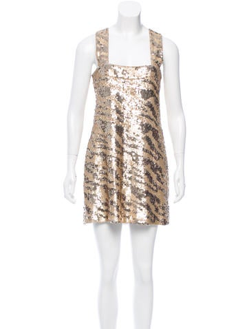 Rachel Zoe Embellished Sleeveless Dress w/ Tags!