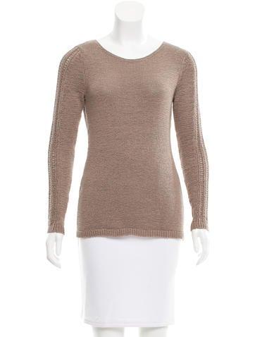 Rachel Zoe Knit Crew Neck Sweater None