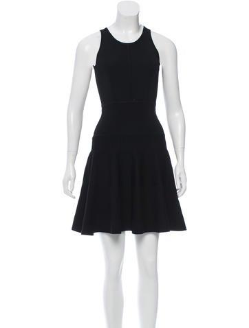 Rachel Zoe Sleeveless Fit and Flare Dress None