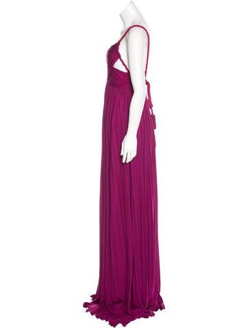 Pleated Asymmetrical Dress