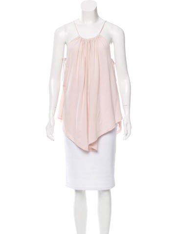 Rachel Zoe Sleeveless Gathered Top None