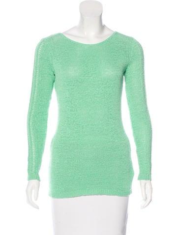 Rachel Zoe Lightweight Rib Knit Sweater None