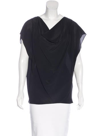 Rachel Zoe Silk Sleeveless Top None