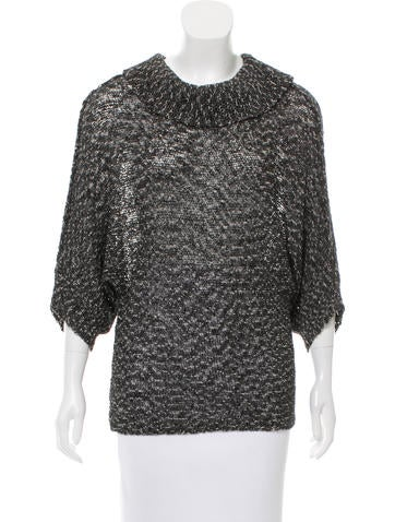 Rachel Zoe Cowl Neck Knit Top None