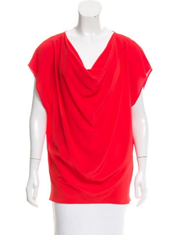 Rachel Zoe Sleeveless Silk Top None