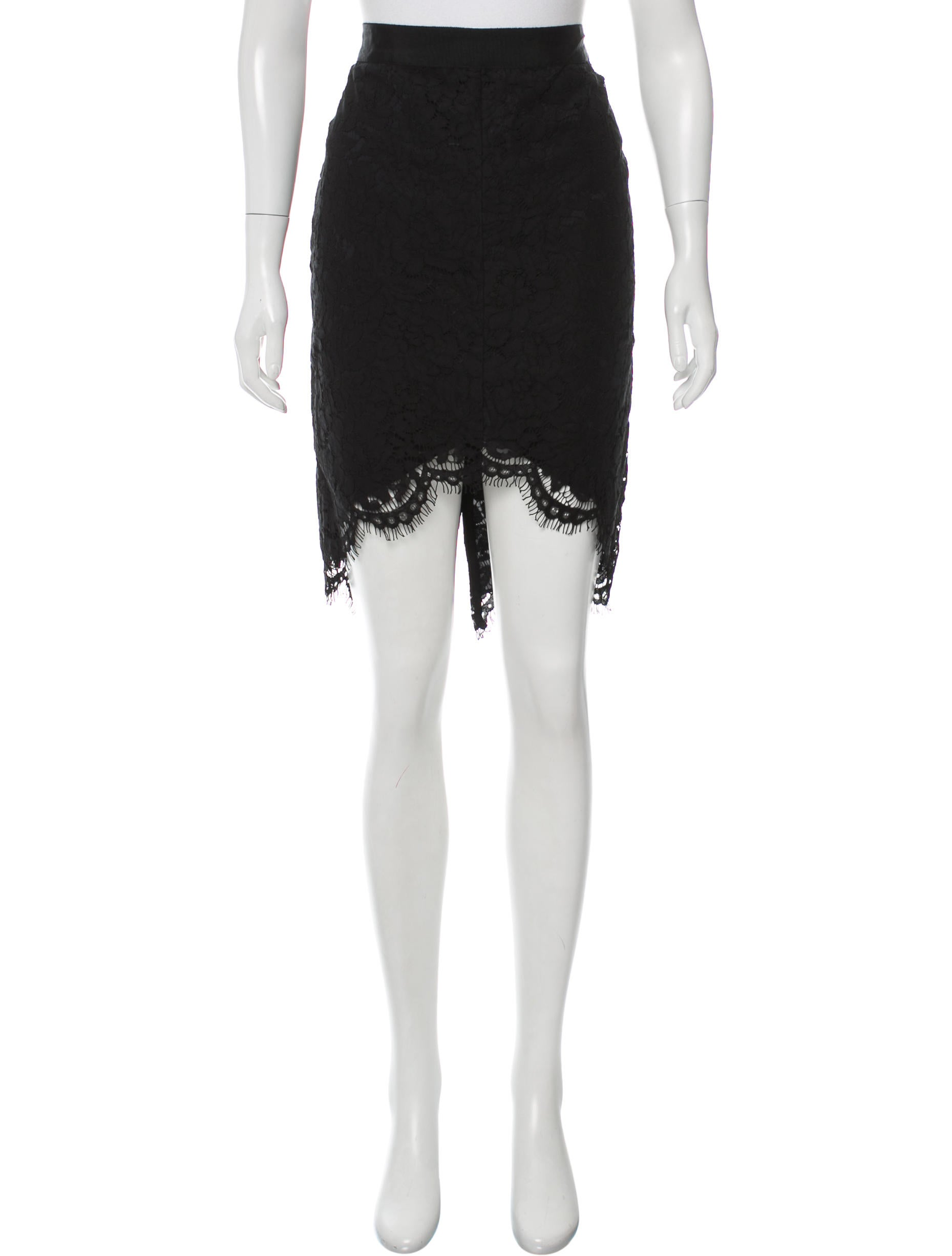 zoe lace high low skirt w tags clothing