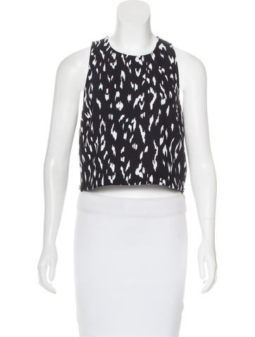 Rachel Zoe Sleeveless Crew Neck Top None