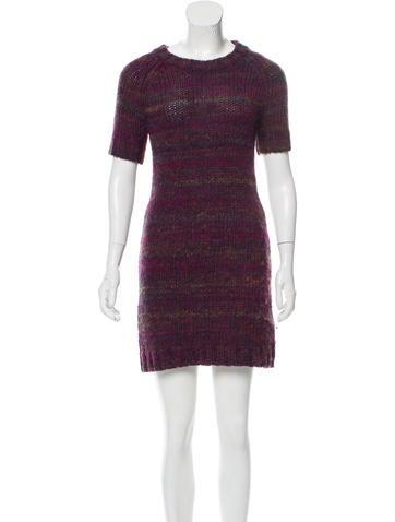 Rachel Zoe Knit Mini Dress None