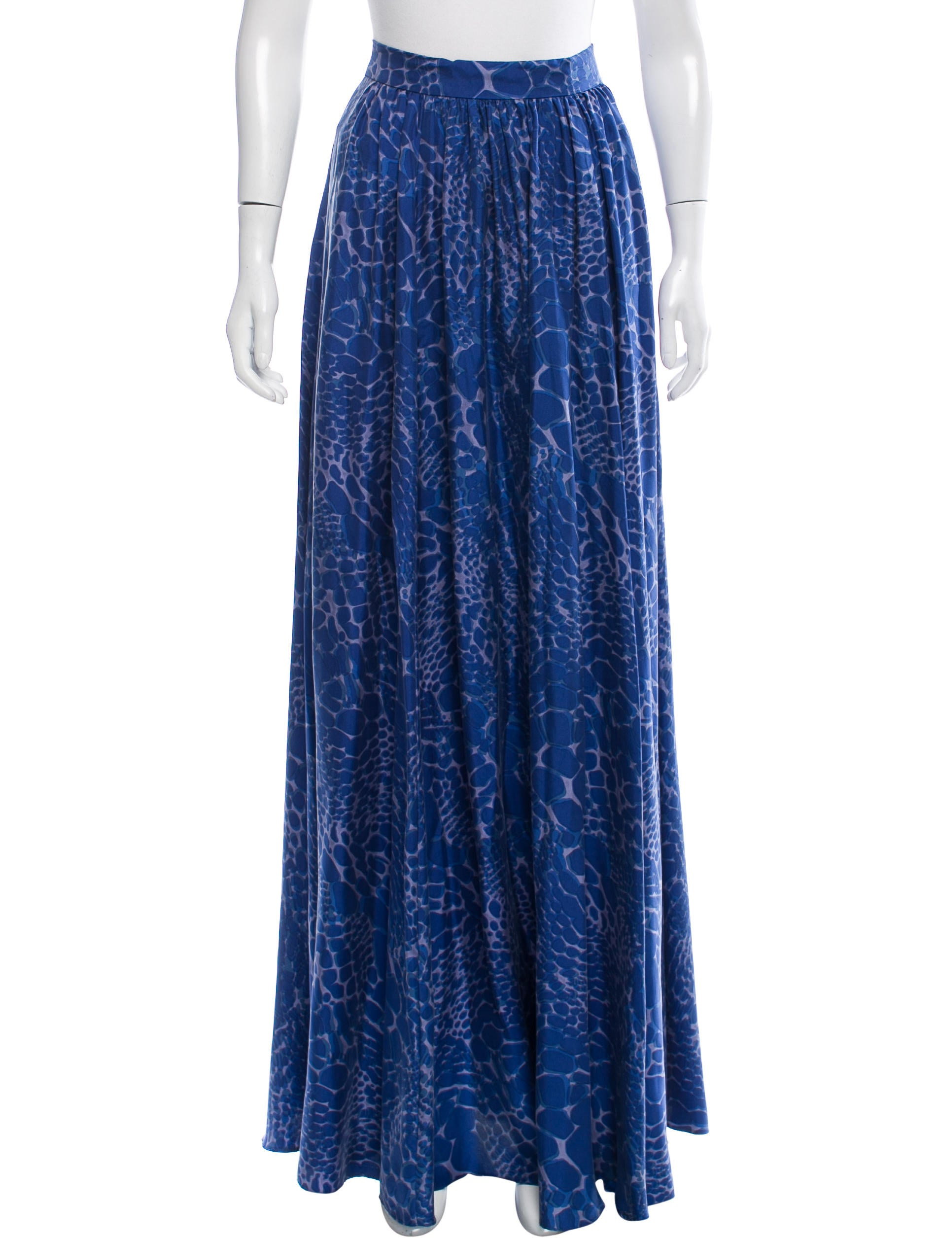 zoe printed maxi skirt clothing wrl29152 the